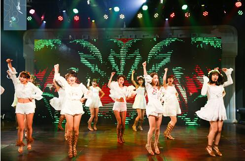 snh48总决选启动仪式 《梦想岛》mv原班人马首跳
