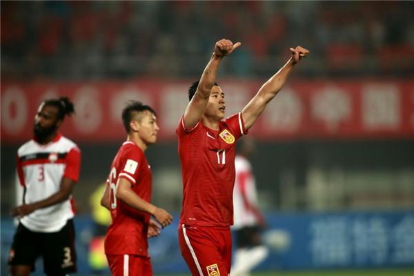 China 4 - Trinidad & Tobago 2