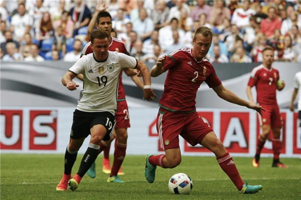 Germany 2 - Hungary 0