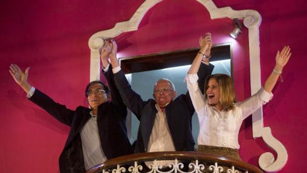 Resultados parciales ubican a Kuczynski a la delantera en elecciones presidenciales de Perú
