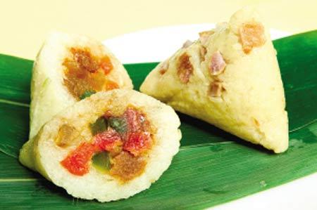1. Les zongzi japonais Les zongzi japonais ne sont pas faits à base de riz glutineux comme les zonzi chinois, mais d