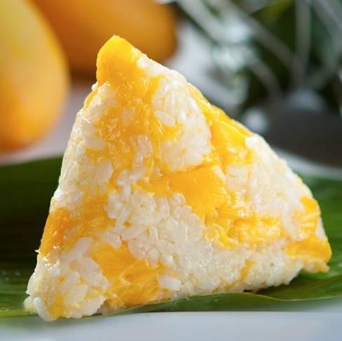 10. Le zongzi à la mangue Seriez-vous tenté par un zongzi fourré à la mangue ?
