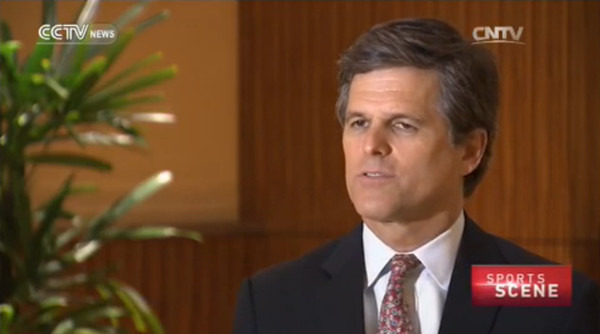 Exclusive interview with Timothy Shriver: Li Na, the perfect ambassador for Special Olympics