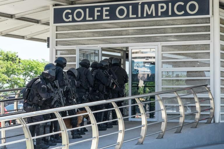 Policía de Brasil lleva a cabo un simulacro de seguridad de cara a los Juegos Olímpicos
