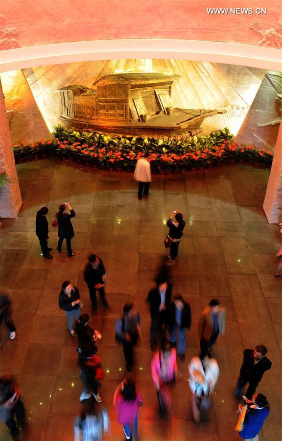 زار الزوار متحف الثورة في جياشينغ بمقاطعة تشجيانغ