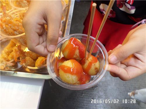 1634《蛋糕海沧的美食》厦门区霞阳小学陈琴我爱小美食图片