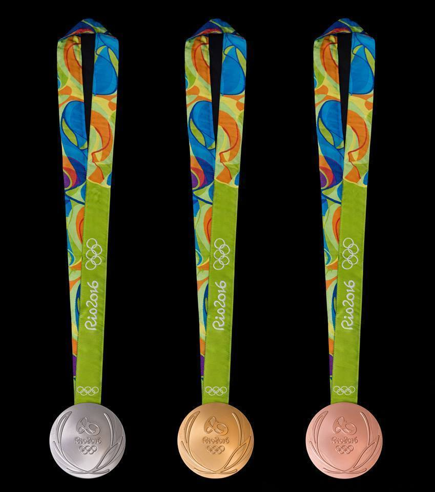 В Бразилии показали дизайн медалей Игр