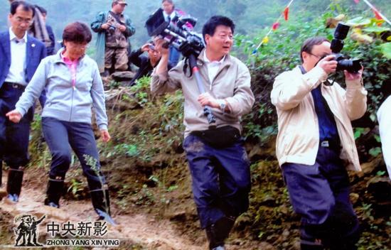 2012年在云南彝良地震灾区