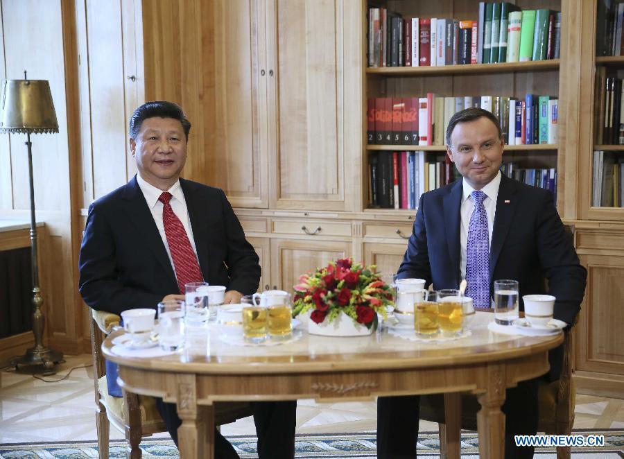 La Chine et la Pologne décident d