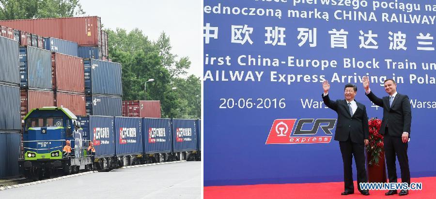 Les présidents chinois et polonais saluent l