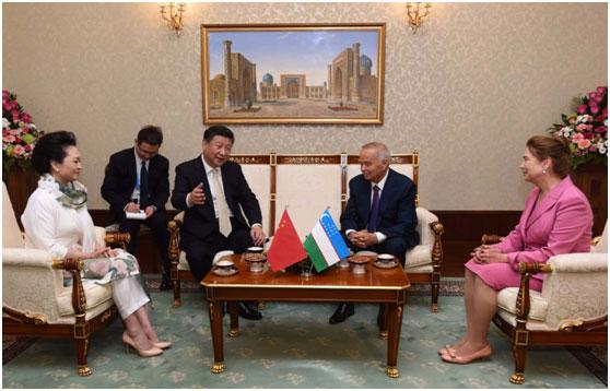 Le président chinois est à Tachkent pour une visite de 4 jours
