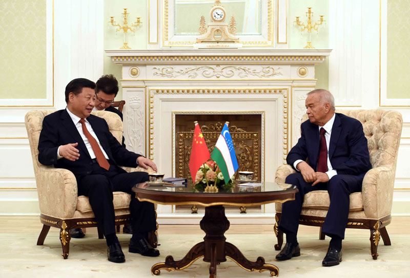 China and Uzbekistan have elevated ties to a comprehensive strategic partnership.