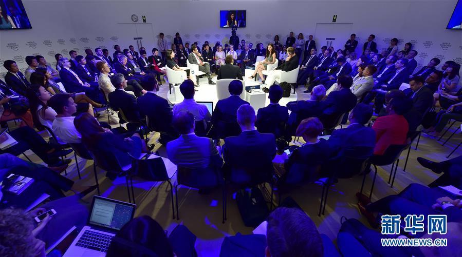 Ouverture du Sommet de Davos à Tianjin en Chine