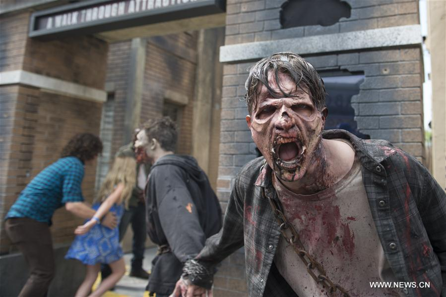 "Californie: ""The Walking Dead"" dans Universal City"