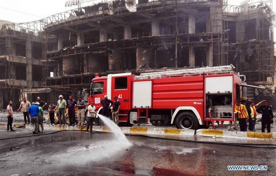 At least 126 killed in Baghdad bombings - CCTV News - CCTV