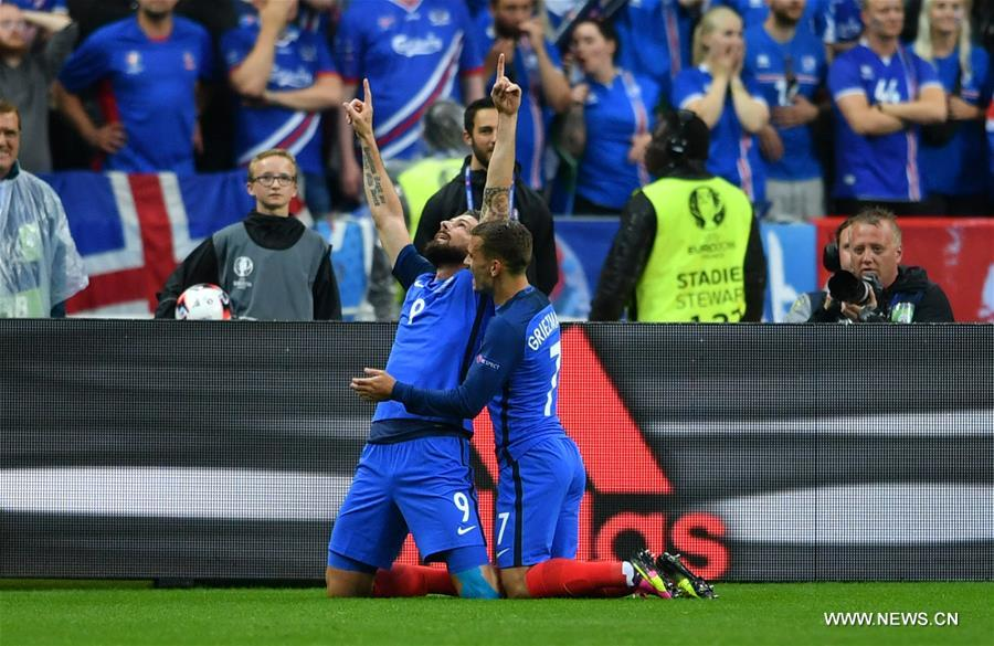 France eye Germany after ending Iceland's dream