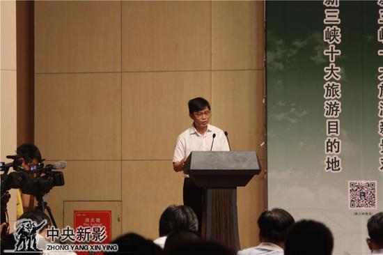 巫山县副县长熊伟先生介绍神女景区