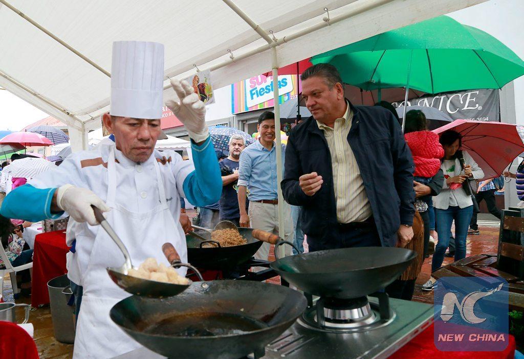 Le Costa Rica organise son tout premier festival de la gastronomie chinoise