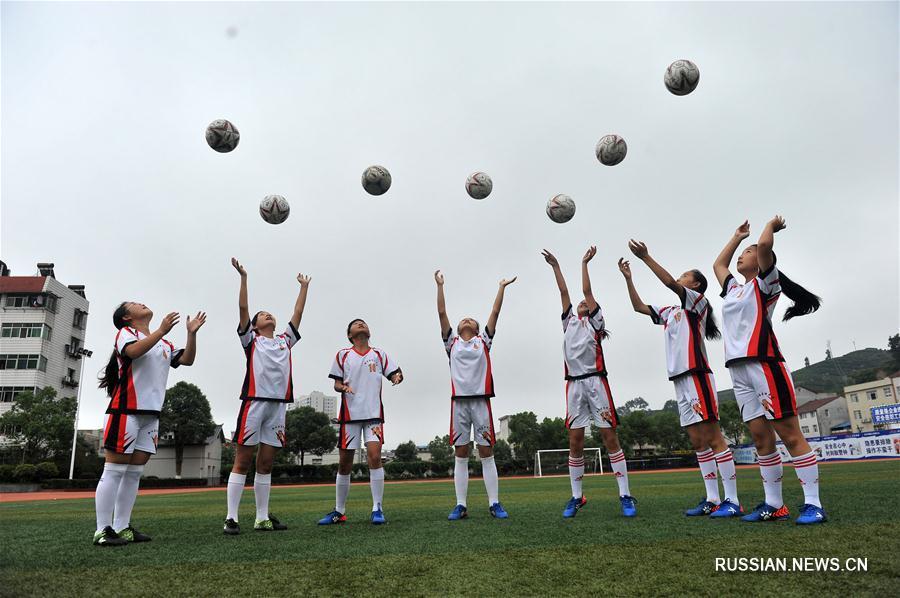 Спортивное лето в Китае