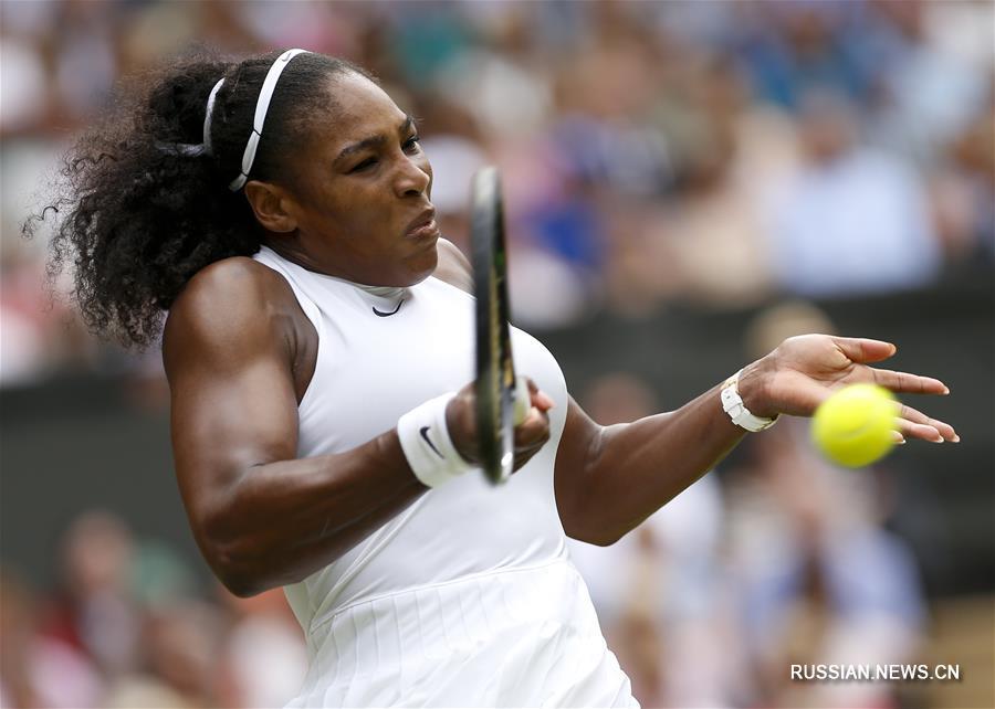 Серена Уильямс в седьмой раз выиграла Уимблдонский турнир в одиночном разряде