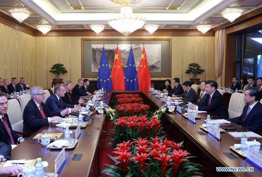 Xi Jinping : la Chine veut voir une UE et un Royaume-Uni prospères et stables