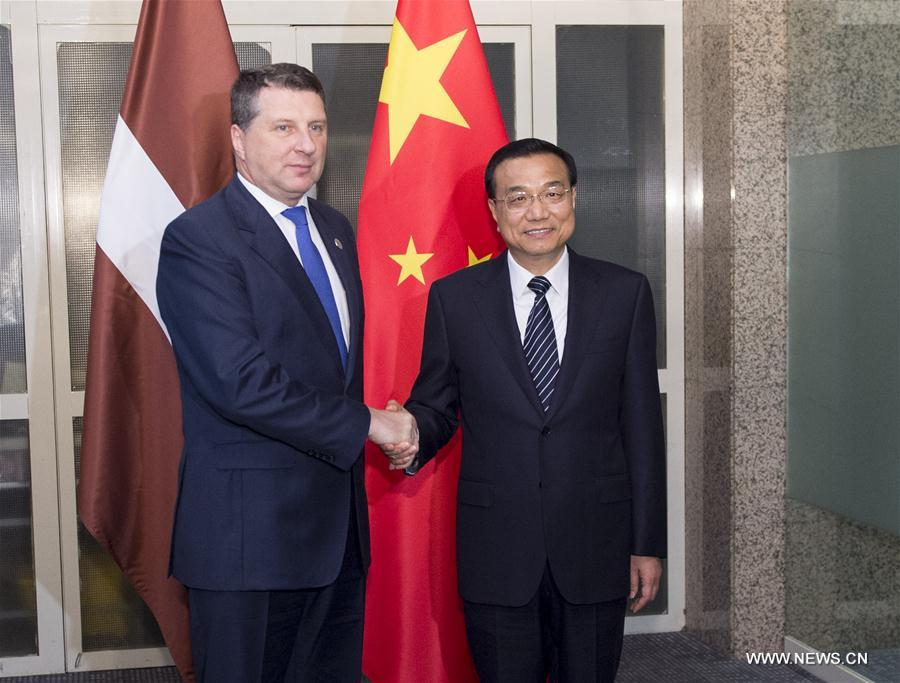 La Chine soutient la Lettonie dans l