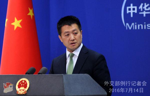 La Chine dénonce la déclaration australienne