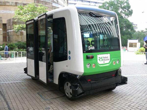 Self-driving bus to hit Japan