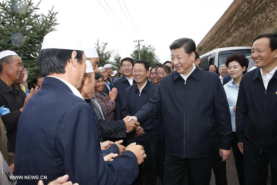 Xi Jinping conseille le développement inclusif lors de son voyage dans le Ningxia