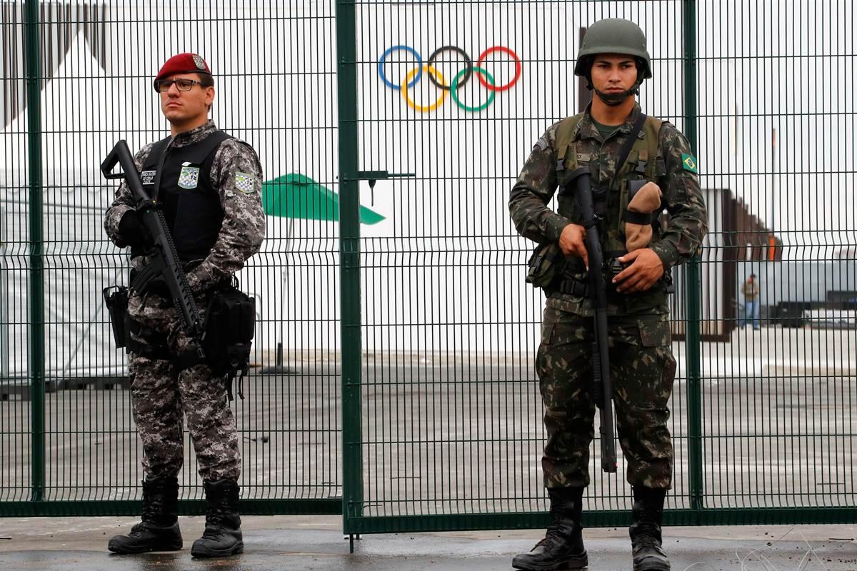 Autoridades de Brasil refuerzan medidas de seguridad en varias sedes olímpicas