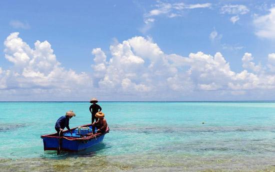 Preuves de la présence de pêcheurs chinois sur les îles