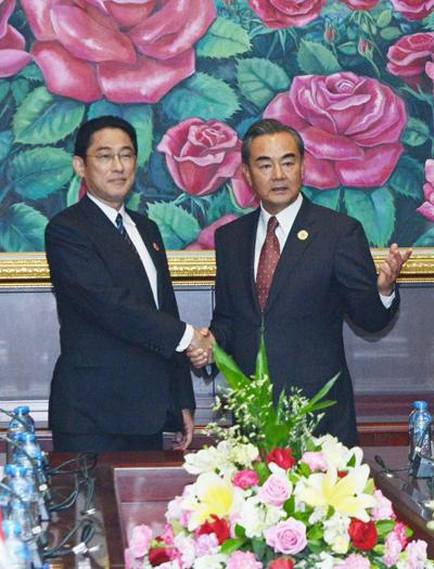La diplomatie chinoise exhorte le Japon à ne pas intervenir dans la question de la mer de Chine méridionale