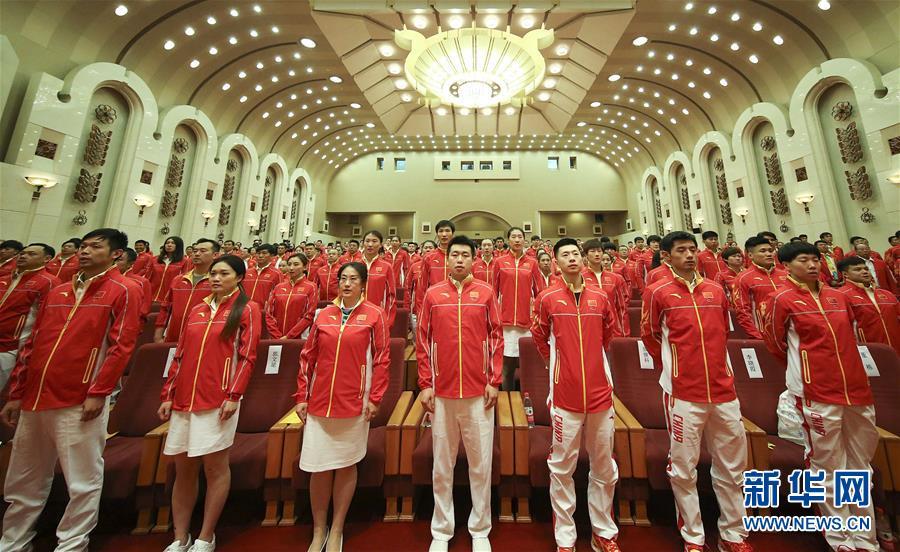 La Chine envoie une délégation de 416 athlètes