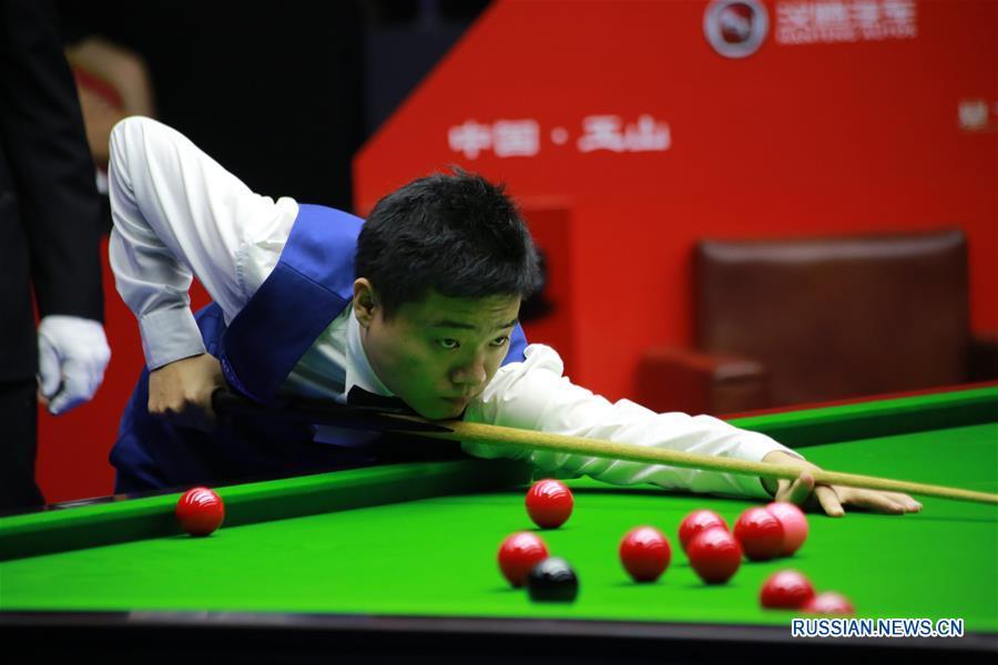 Дин Цзюнхуэй вышел во второй раунд турнира World Open 2016