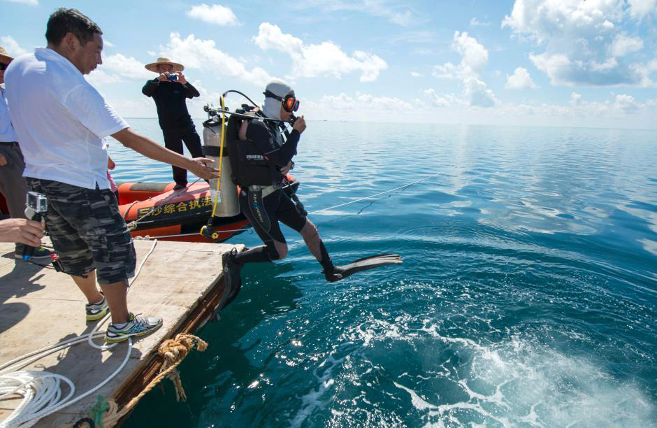 Les îles Xisha possèdent le trou bleu le plus profond