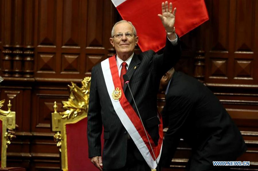 Pedro Kuczynski toma posesión como nuevo presidente de Perú