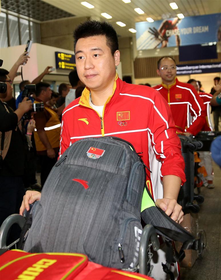 Болельщики тепло встретили Сборную КНР