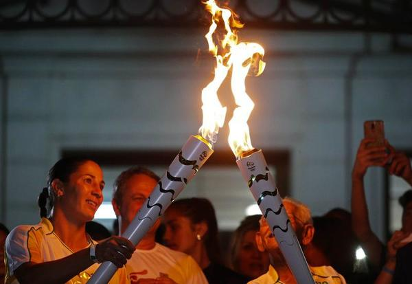 The torch relay for the Olympics is entering its final stages. The flame is now in the state of Rio, which houses the Olympic city of Rio de Janeiro.