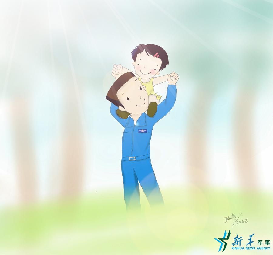 【微漫画】含含爸的频道_新闻漫画_央荣耀(王者礼物刘备视网图片