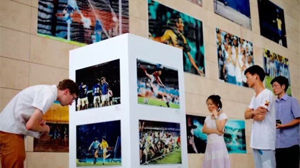 Brazilian football photo exhibtion brings back glorious memories
