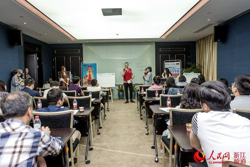 G20 : un bénévole australien à Hangzhou rêve de faire comme Marco Polo