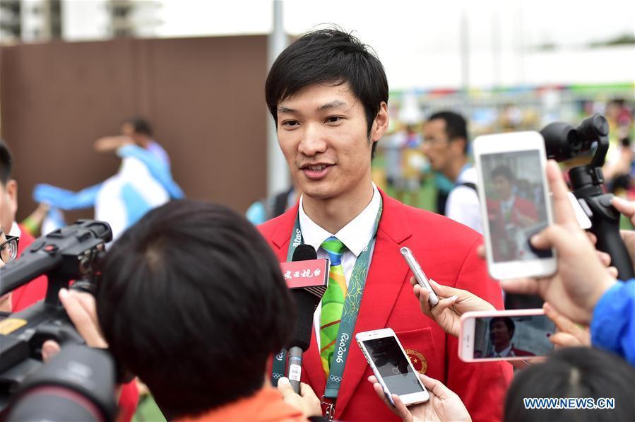 Lei Sheng sera le porte-drapeau de la Chine lors des Jeux olympiques de Rio