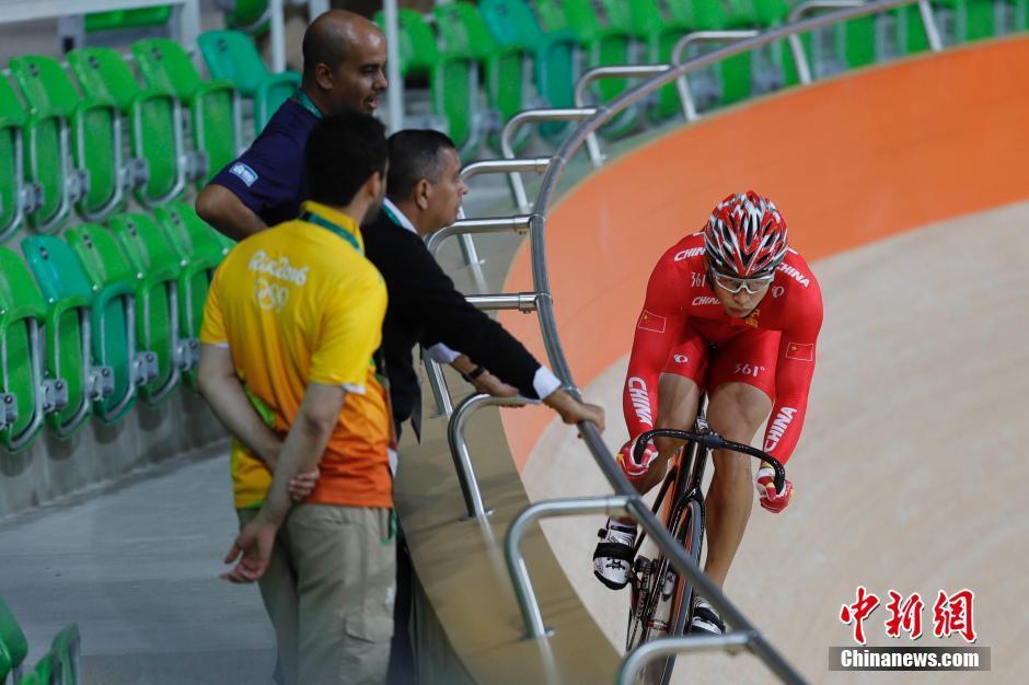 Китайские спортсмены готовятся к выступлениям