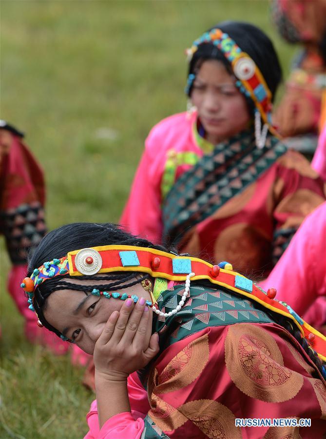 Краски высокогорных лугов -- Народный праздник в уезде Лхари Тибетского АР