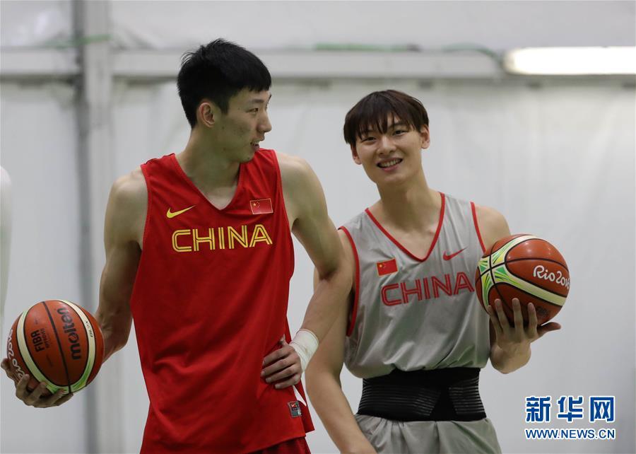 Китайские спортсмены готовятся к соревнованиям
