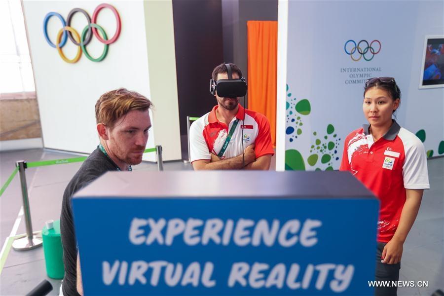 تقنية الواقع الافتراضي تدخل أولمبياد ريو