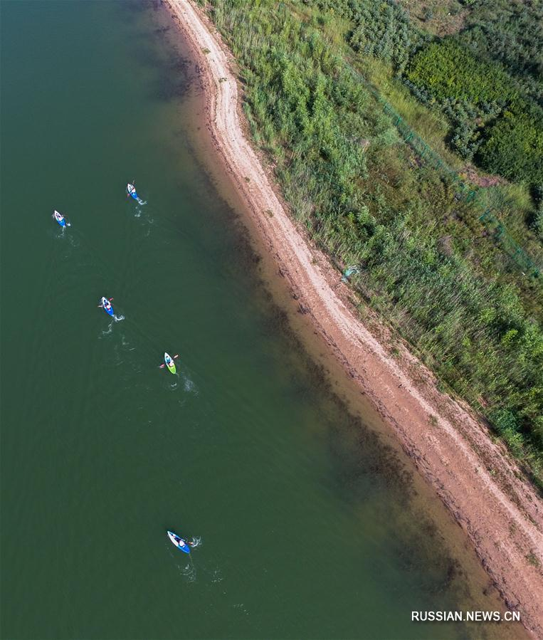 В Уланчабе стартовали Всекитайские открытые соревнования по степному четырехборью