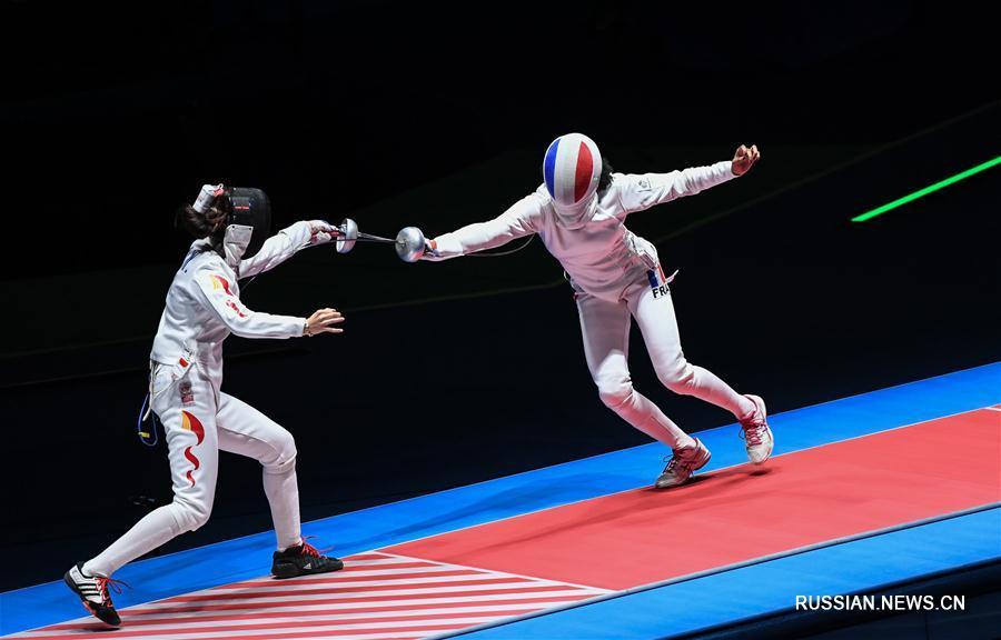 Олимпиада-2016 -- Фехтование: Шпажистка Сунь Ивэнь завоевала бронзу на Олимпиаде в Рио-де-Жанейро