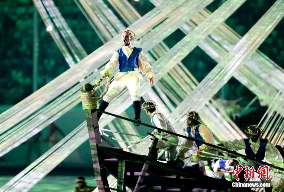 افتتاح الدورة الـ31 للألعاب الأولمبية الصيفية في ريو دي جانيرو