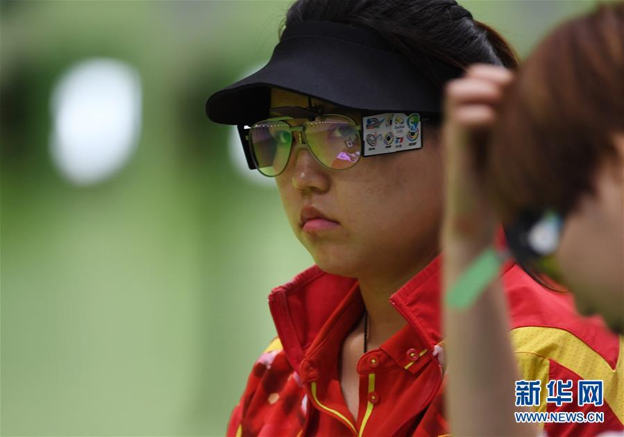 فازت تشانغ منغ شيوه بأول ميدالية ذهبية للصين